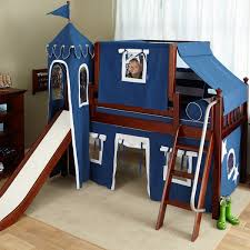kids loft beds with slide. Beautiful With Your Little Boy Will Feel Like A Real Prince In His Castlelike Loft Bed  You Can Also Conveniently Arrange The High Mid And Low Beds According To  In Kids Loft Beds With Slide