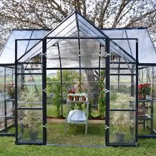 famous glass greenhouse kits