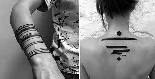 Digimatism Minimalistické Digitální Tetování Z Moskvy