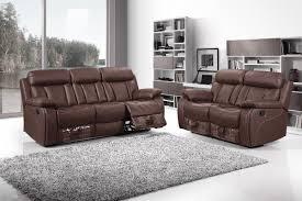 plushemisphere elegant and stylish reclining leather sofas recliner