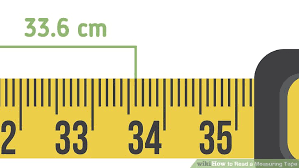 Standard Tape Measurement Chart How To Read A Measuring Tape With Pictures Wikihow