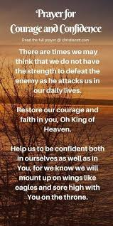 best prayer for confidence ideas morning prayer prayer for courage and confidence