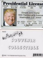 States Car Donald President United Trump Of Id Fake The