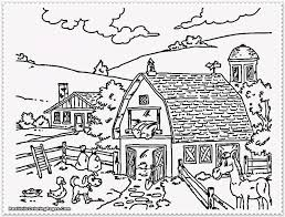 Coloring Pages Farm Animals Coloring Pages For Kids Farm Animals