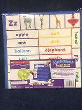 Scholastic Alphabet Pocket Chart Activity Center Includes