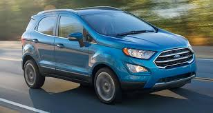 new ford 2018. delighful new 2018 ford ecosport suv front driving in new ford r