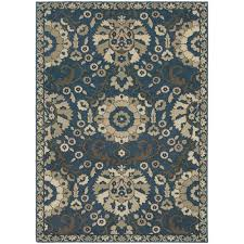home decorators collection emerson midnight 3 ft 10 in x 5 ft 5