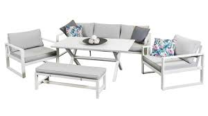 White outdoor furniture Sofa Napoli Dining Sofa Set White Outdoor Lounge Sofa Set Ana White Napoli Dining Sofa Set White Outdoor Lounge Segals Outdoor