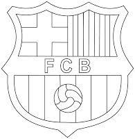 Voetbal Kleurplaat Fcb Fc Barcelona Kleurplaten Kleurplaten Eu