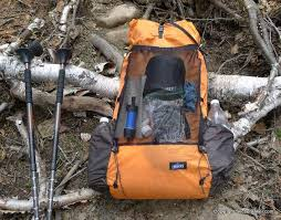 the arc blast is configured as an ultralight backpack with a front mesh pocket and two