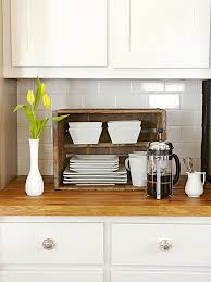 We love this kitchen storage idea. This is perfect for small spaces and  organization. If cabinet space is limited, keep dishes you use on a regular  basis on ...