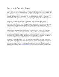 a narrative essay narrative essay examples for colleges narrative essay development