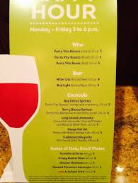 olive garden happy hour specials monday friday 3 6pm yelp pertaining to designs 0