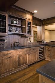 26 cabin in the wood paneled kitchen 27 best rustic kitchen cabinet