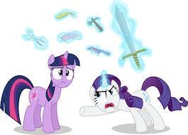 rarity twilight sparkle pony applejack derpy hooves mammal vertebrate horse like mammal cartoon purple pony fictional