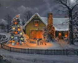 Christmas Houses Desktop Wallpapers ...