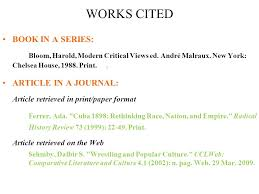 lecture referencing cont d harvard referencing referencing a 3 works