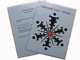 Tibetan Eye Chart Exercises From The Desk Of Dr Hildy Tibetan Rapid Eye Movement