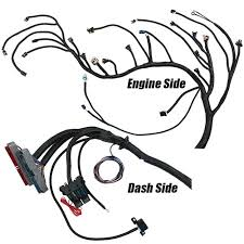 performance world 329091 1999 2006 gen iii ls chevrolet gmc performance world 329091 1999 2006 gen iii ls chevrolet gmc truck 4 8 5 3 6 0 6 2l complete engine swap wiring harness for t56