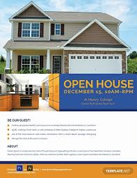 Home Flyers Template Free Mortgage Open House Flyer Template Word Psd Apple