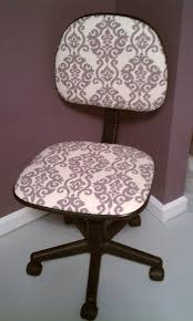 reupholstering an office chair. Re-Upholstered Office Chair Reupholstering An I