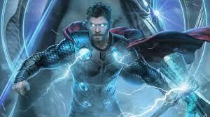 Avengers: Endgame Thor 4K Wallpaper #17