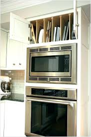 double oven cabinet. Kitchen Oven Cabinet Dimensions Microwave Built In Double