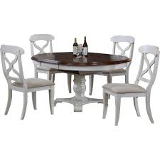 Round Dining Table For 6 With Leaf Kitchen Dining Room Sets Wayfair Butterfly Leaf 5 Piece Set Loversiq