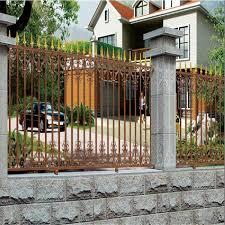aluminum security fence for garden