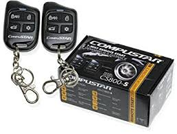amazon com compustar cs800 s 1 way remote start 2 4 button compustar cs800 s 1 way remote start 2 4 button remotes 1000