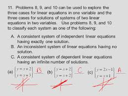 a solution of a linear equation in one variable is an 25 11
