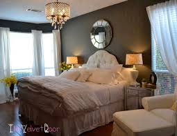 modern chic bedroom chandelier