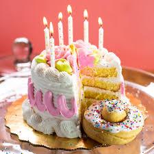 4 Pack Cake Doughnut Birthday Cake The Dough Bar