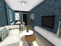 small narrow living room layout