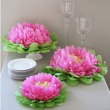Paper Flower Set for Party Decor