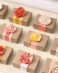 38 Wedding Favor Gift Wrapping Ideas to Steal | Martha Stewart Weddings