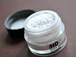ings make up for ever hd microfinish powder why does it go all white