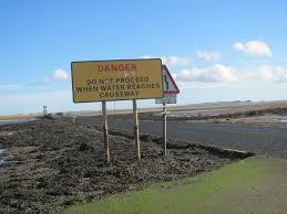 Causeway Tide Chart Holy Island Northumberland 10 000 Birds