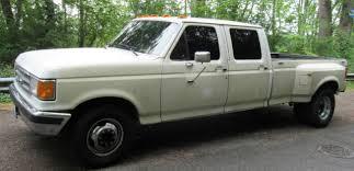 Ford F-350 Diesel 7.3L Crew Cab full 4 door Dually Pickup Truck XLT ...