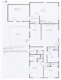 How To Draw A Floor Plan On Graph Paper House Plans Drawing Paper