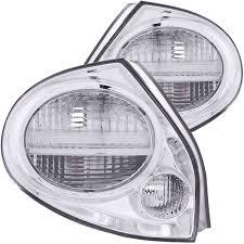 2001 Nissan Maxima Lights Amazon Com 2000 2001 Nissan Maxima Tail Lights Chrome Rear