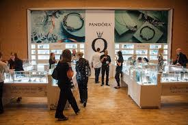 attendees of the jck trade show friday peruse pandora s autumn and winter collections featuring sterling silver