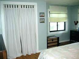 Image Hanging Curtains Curtains As Closet Doors For Curtain Closets Full Size Of Instead Door Without Doo Thminsco Curtains As Closet Doors For Curtain Closets Full Size Of Instead