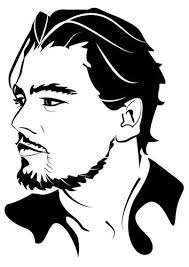 Coloring Page Leonardo Di Caprio Famous People Coloring Pages