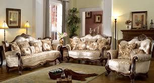 Victorian Style Living Room Furniture Interesting Victorian Style Living Room Design With Luxury Cream