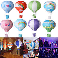 image is loading home room hot air balloon paper lantern decor