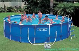 <b>Бассейн</b> круглый большой <b>Intex 28242 каркасный</b> купить ...