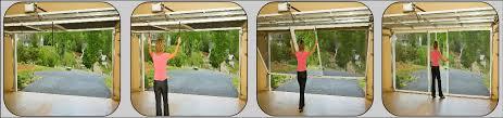 garage door screen systemStyle Of Retractable Garage Door Screen   Design of Retractable