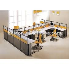 interior office partitions. four people office interior design partition 280007 partitions