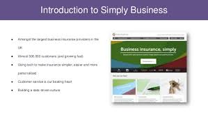 Simply business is the uk's largest online business insurance broker, currently insuring almost 200,000 smes and landlords. From Architecture To Analytics A Look At Simply Business S Data Stra
